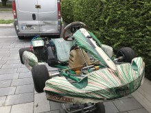 2012 tonykart evrr chassis with Rotax max senior engine
